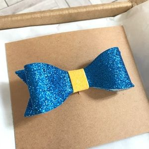 Other - ☀️ 4 for $12 U of M Glitter Hair Bow